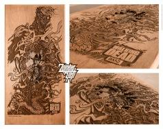Zombie-Yeti-Walking-Dead-Hero-Complex-Gallery-Show