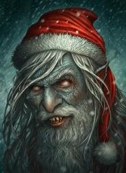 23-zombie-monster-santa-claus-christmas-artworks-illustrations