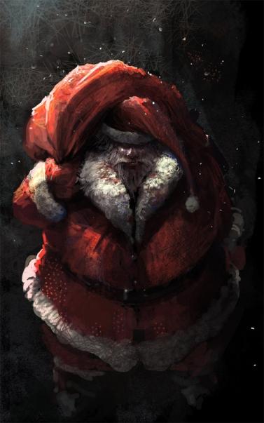5-dark-scary-santa-claus-christmas-artworks-illustrations