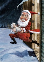 santa-with-kid