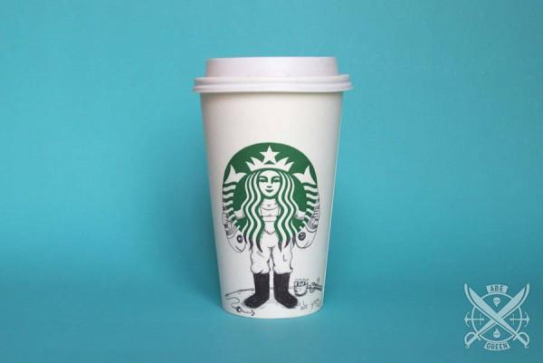 The-Secret-Life-of-the-Starbucks-Siren-by-Abe-Green-03-600x401